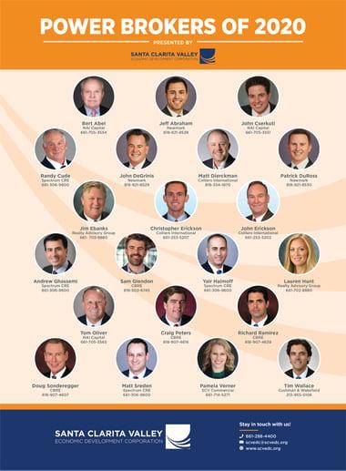 SCVEDC Power Brokers of 2020