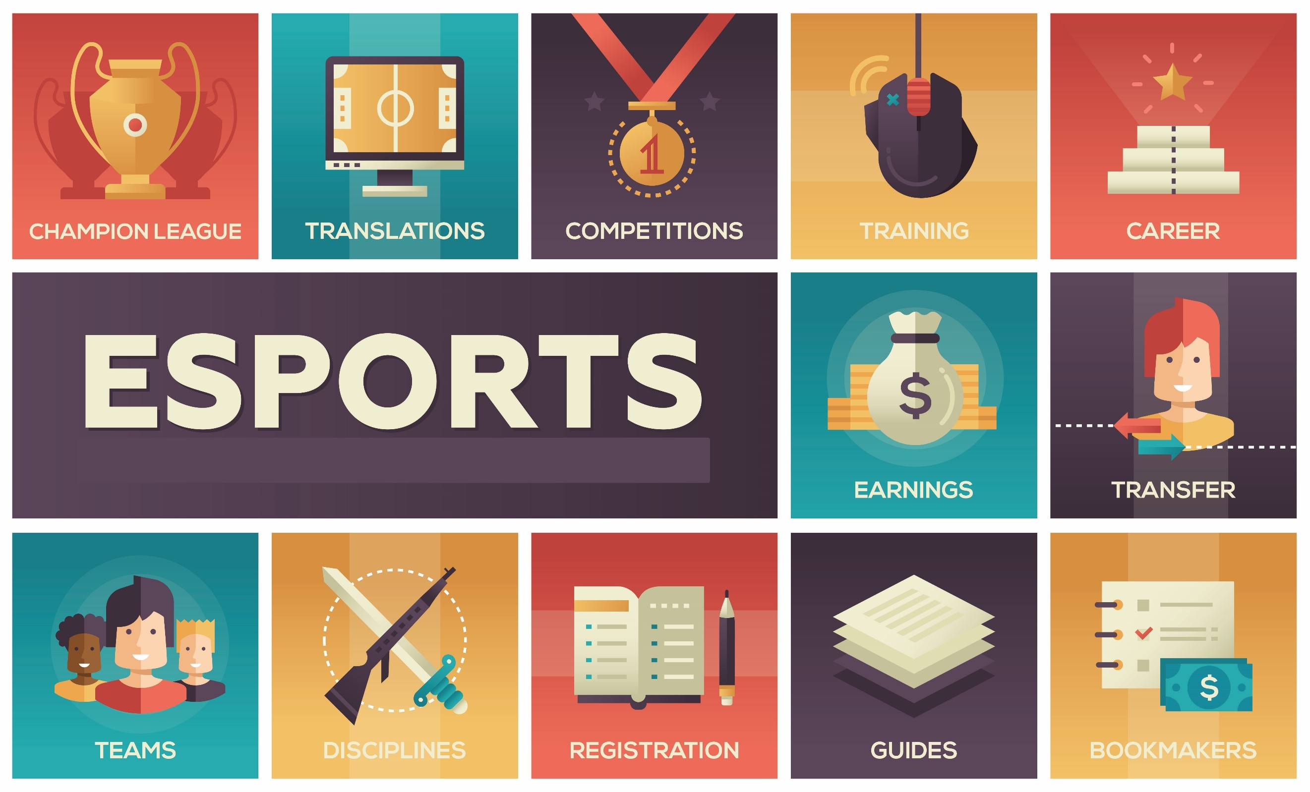 eSports Infographic