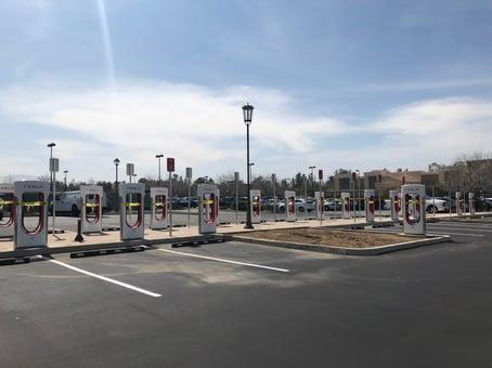 SCV Tesla Charging Station