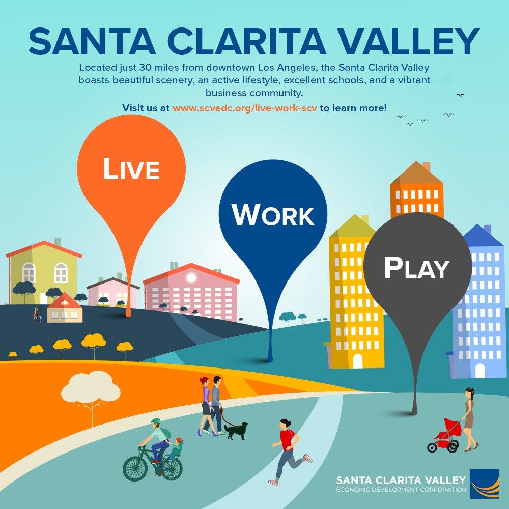 Live Work Play in the Santa Clarita Valley