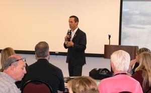 Steve Knight Addresses CASCADE Workshop