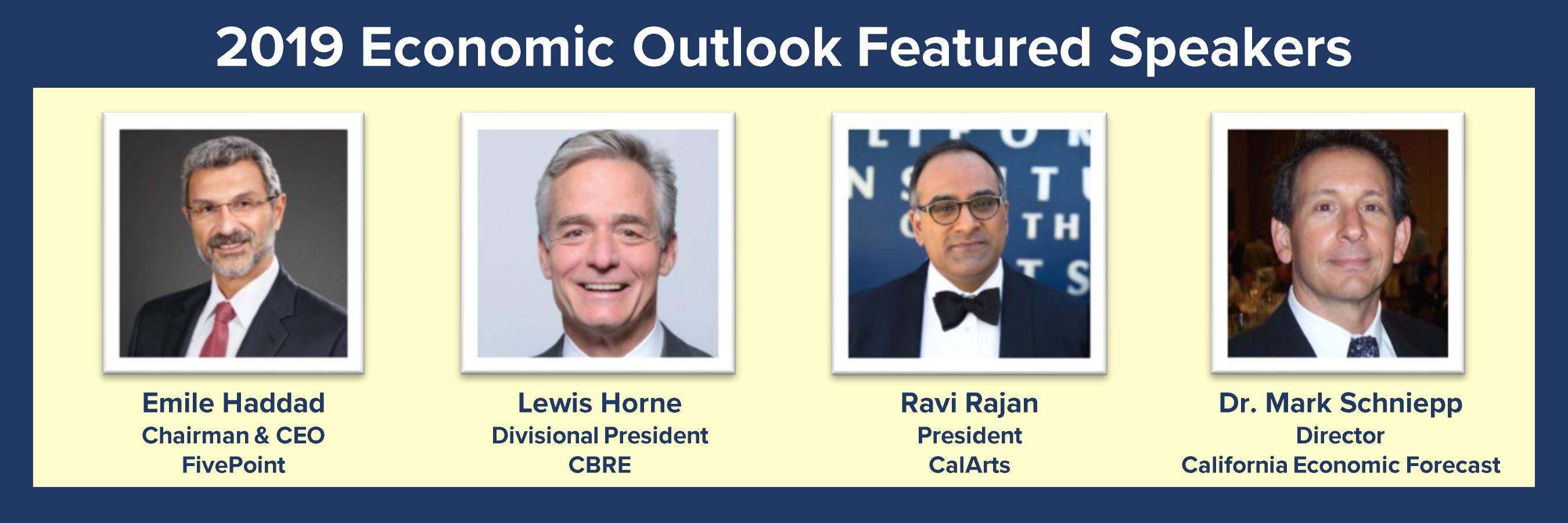 Featured Speakers _ Economic Outlook