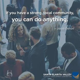 Santa Clarita Valley has a strong economy