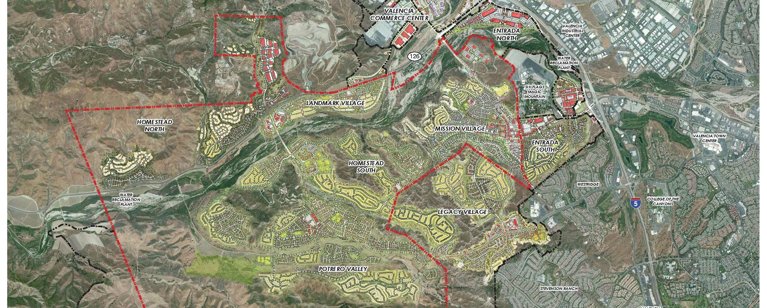 Newhall Ranch Santa Clarita Valley